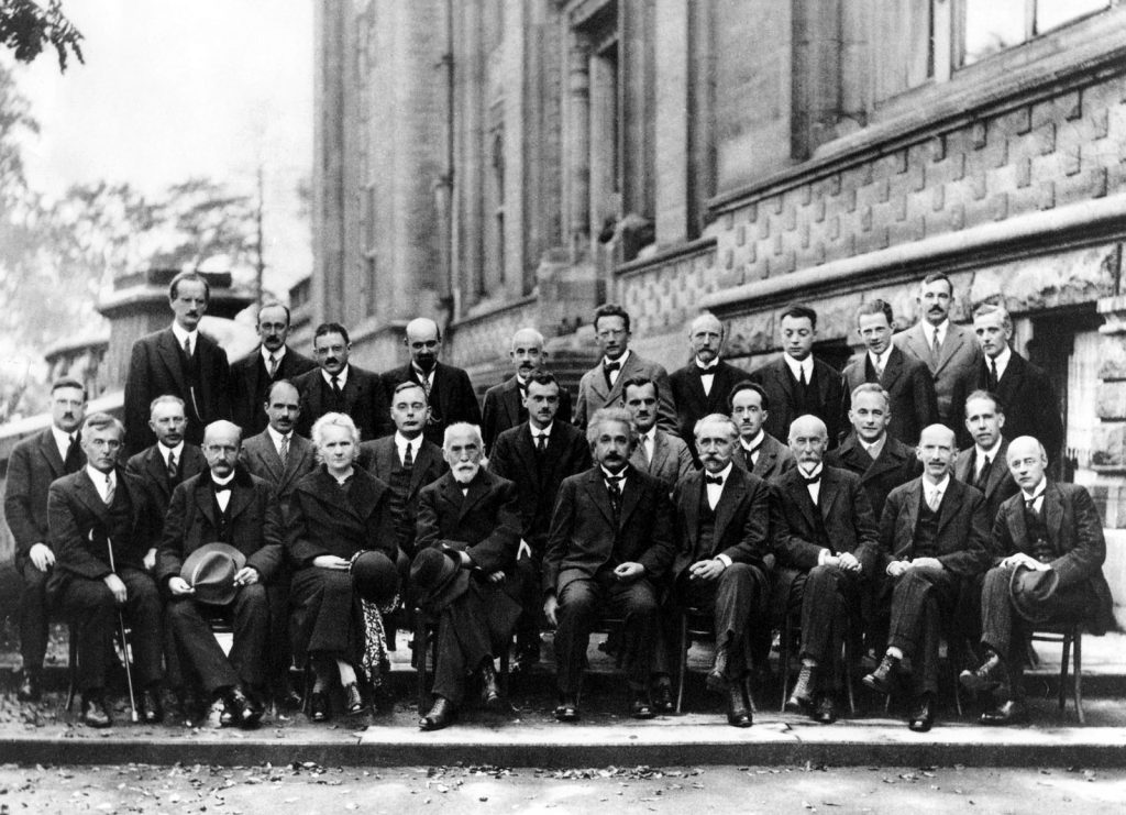 Fifth Solvay Physics Conference (1927) — Even Einstein was working within a community