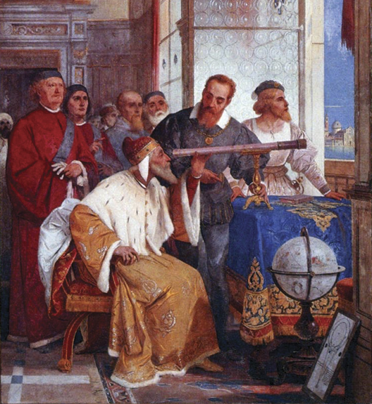 Galileo showed theDoge of Venicehow to use the telescope